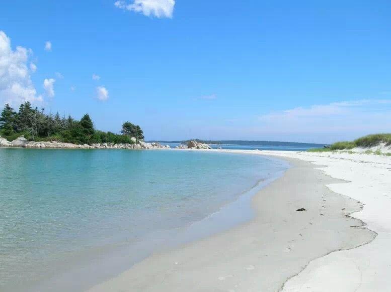 Carters Beach South Shore Of Nova Scotia White Sand Blue Water