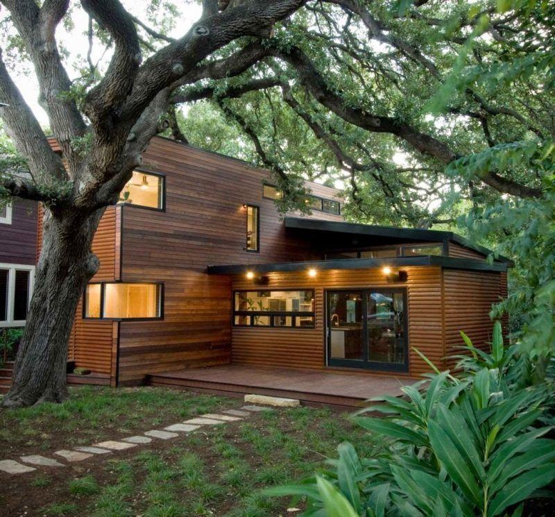 Holz Fertighaus 21 Umweltschonende Ideen Future House Future And