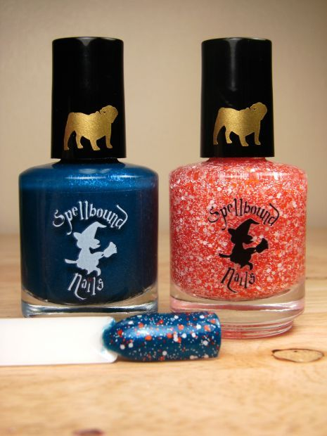 Bear Down Duo - Full Size | Spellbound Nails *$4 of every duo sold will be donated to the Chicago English Bulldog Rescue*