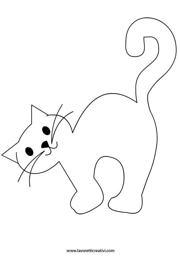 gatto-halloween | Halloween | Pinterest | Gato, Dibujos para pintar ...