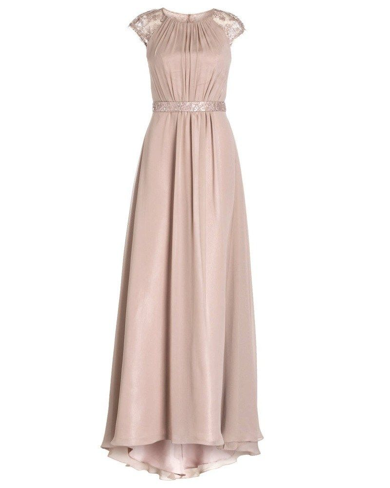 Abendkleid - Sheego Style Abendkleid mit floraler Spitze  Dresses