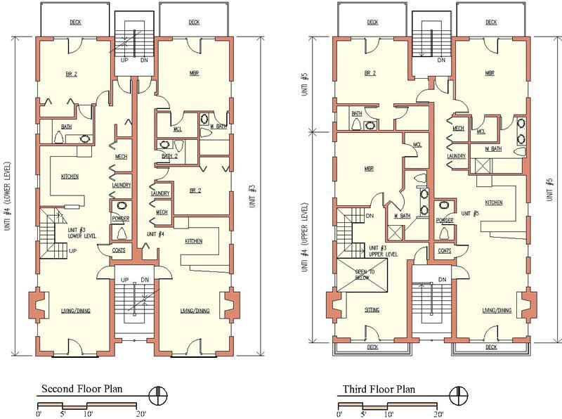 modern apartment building plans - Modern Apartment Design Plans