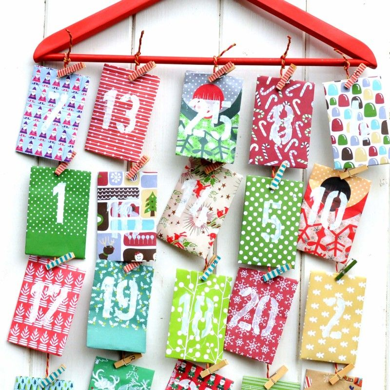 Ordinary Countdown To Christmas Craft Ideas Part - 3: Christmas Advent Calendar Countdown Ideas