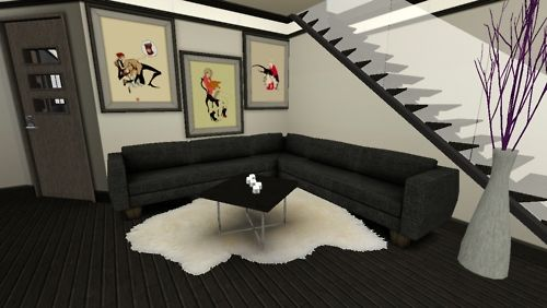 computer animated furniture which is better than mine will ever be! lol