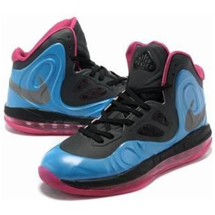 separation shoes aba44 56399 Nike Air Max Hyperposite Stoudemire Shoes Blue Black Pink