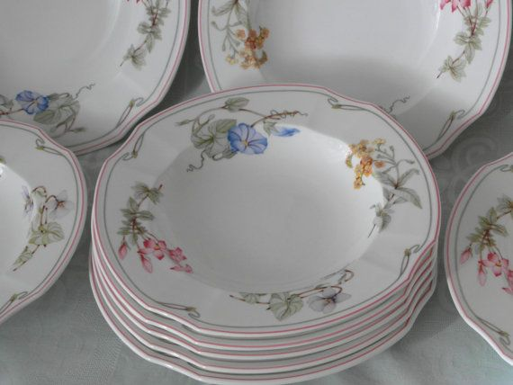 Soup Plate Villeroy Boch Clarissa Bone China Porcelain With