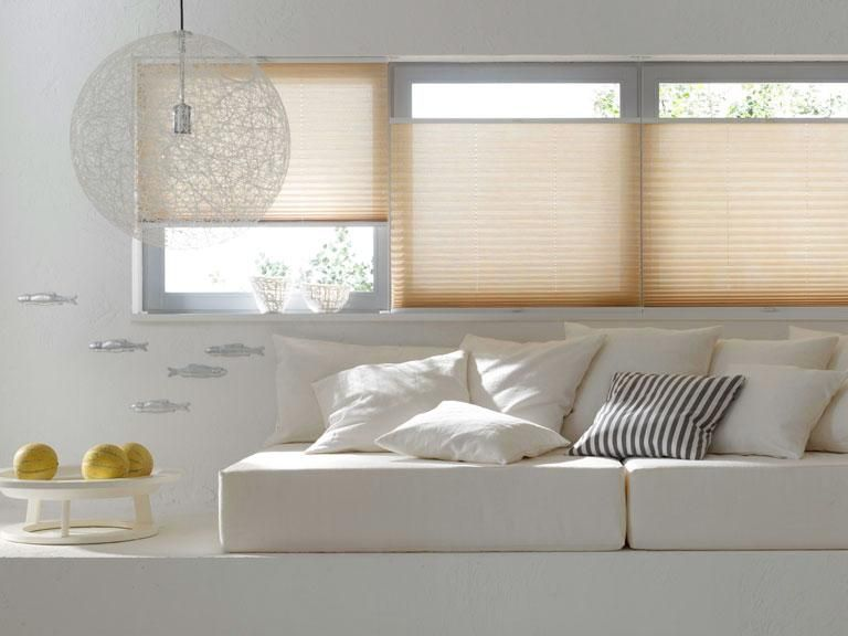Plissees Furs Fenster Praktische Hangedeko Wohnung Wohnzimmer Wohnen Wohnung