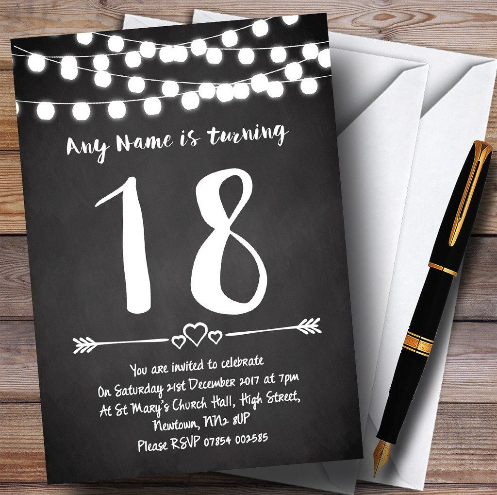18th birthday party invitations  18th birthday party