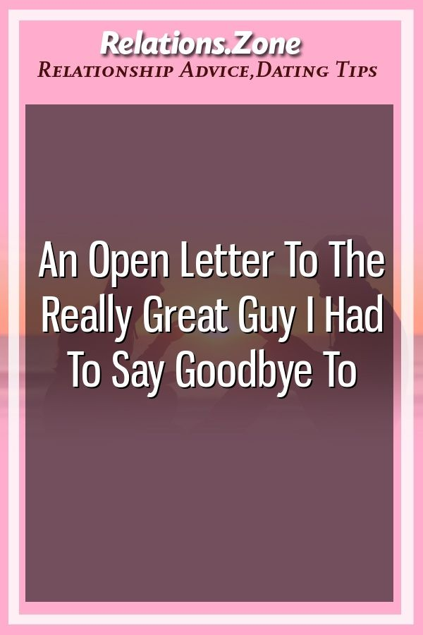 letter to a guy i really like