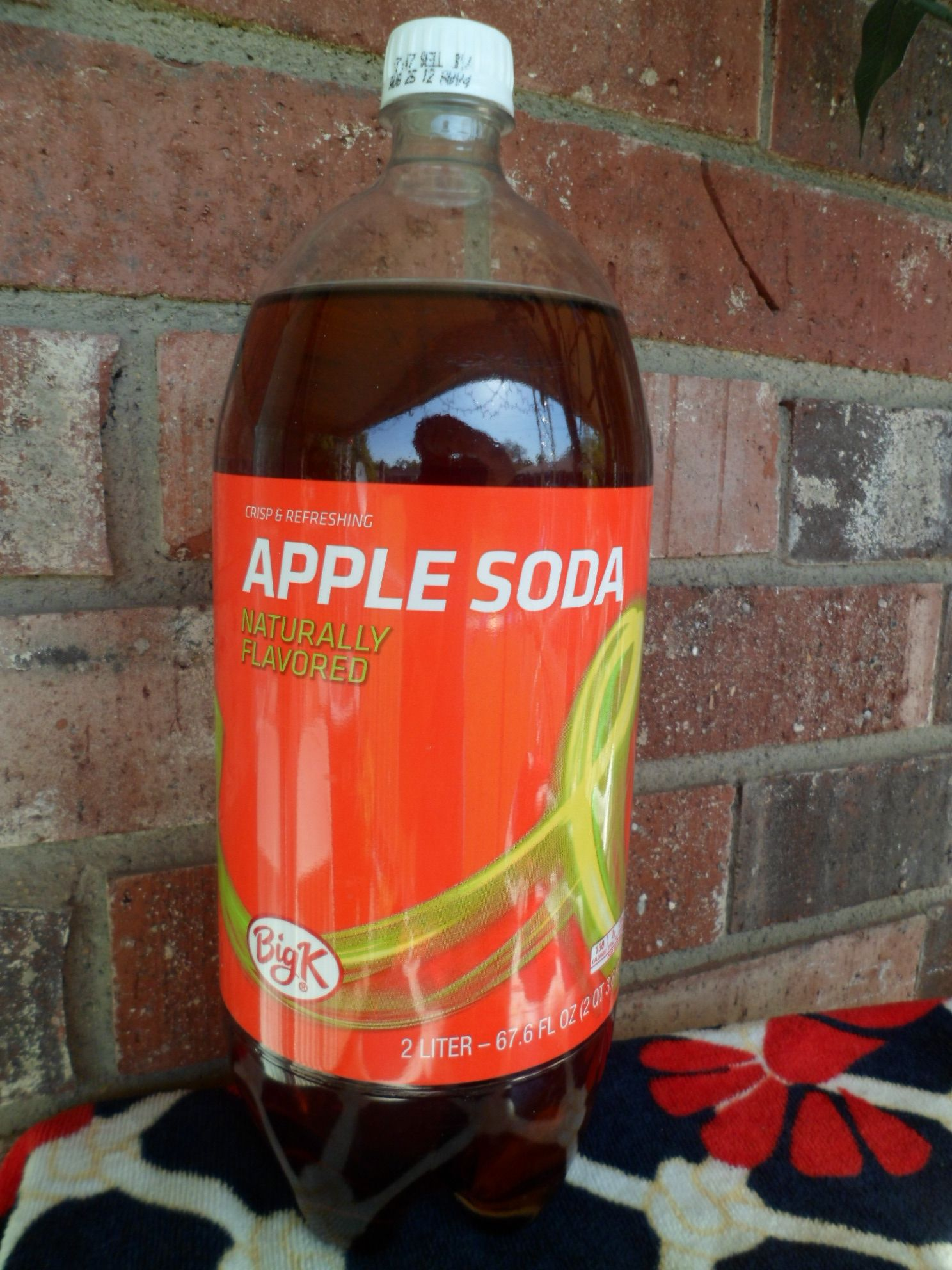 Apple Soda, Naturally Flavored. By Big K The Kroger Co