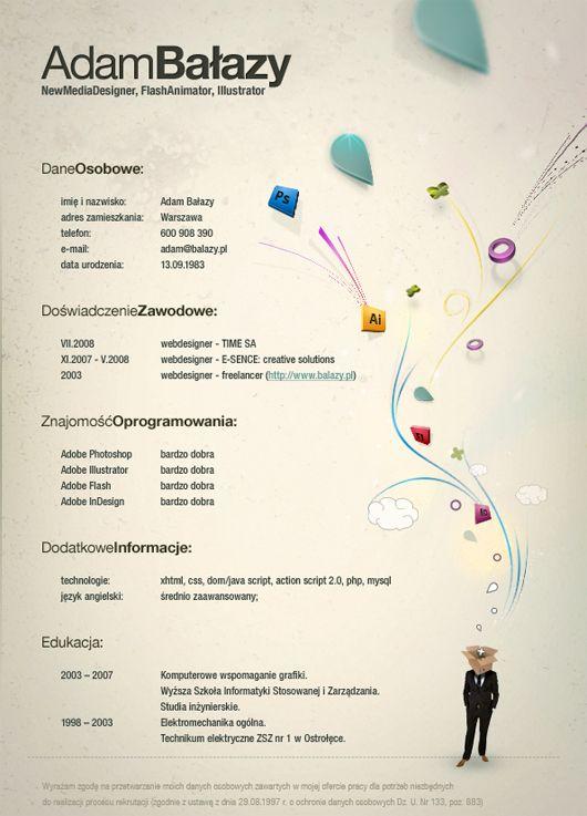 Creative Graphic Design Resume Resume Makeover / Job Help