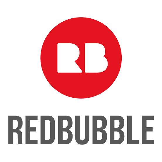 Redbubble Logo Bubble App App Logo Lettering