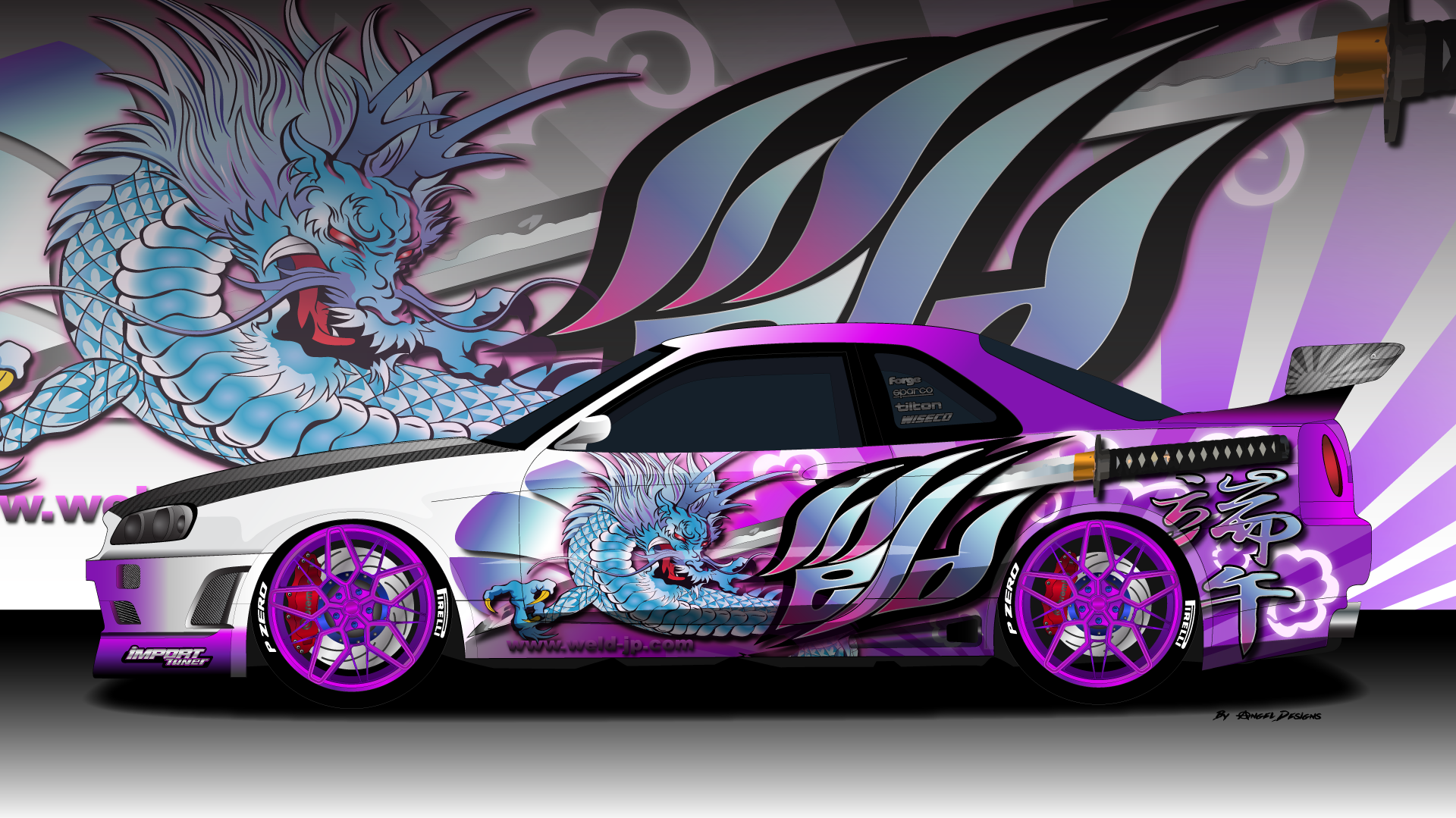 Nissan gtr r34 weld dragon gtr skylinegtr r34