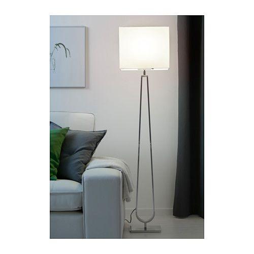 KLABB Floor Lamp With Rectangular Shade