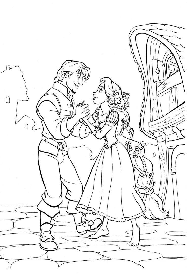 Rapunzel/Eugene (Entrelaçados - Tangled) | Disney princess ...