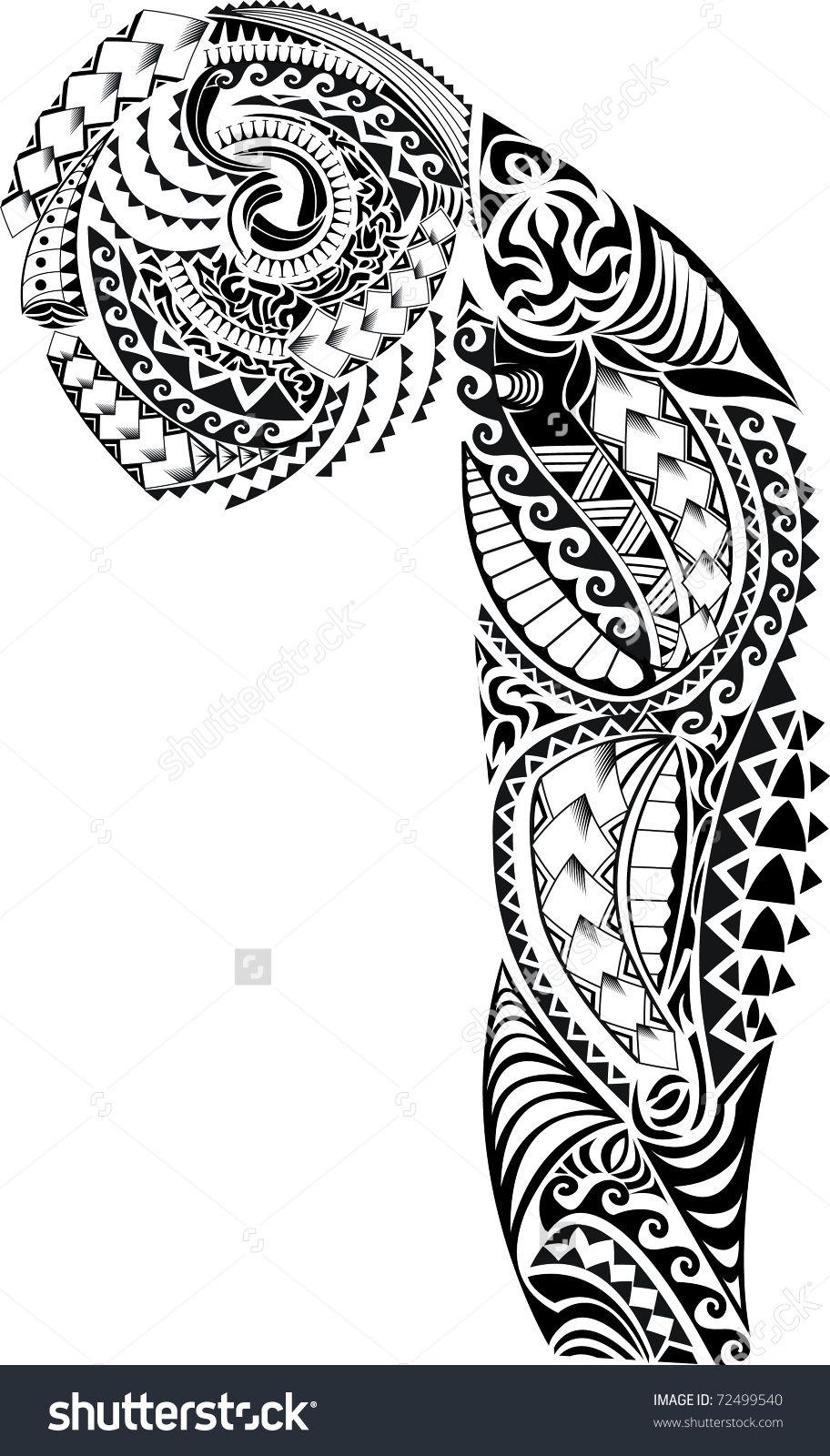 Tribal Arm Chest Tattoo Tribal Sleeve Tattoos Half Sleeve Tattoos Designs Maori Tattoo Designs