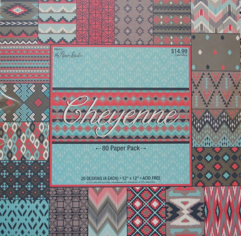 Scrapbook paper pads - Cheyenne 12 X 12 Scrapbook Paper Pack By The Paper Studio New Item 80 Total Sheets 20 Designs 4 Each Acid Free Beautiful Paper Pad