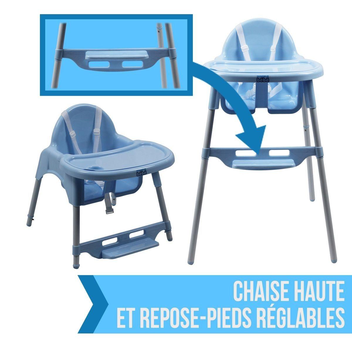 Chaise Haute Bebe Reglable Hauteur Et Tablette Delice Taille Taille Unique Chaise Haute Bebe Chaise Et Tablette