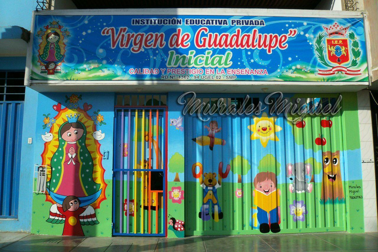 Lima Peru Pinto Murales Infantiles Para Centros De Estimulacion