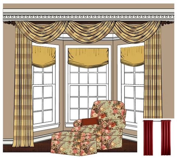 Awesome Curtain Ideas For Bay Window Living Room Eclectic: Tassel Tie Backs. 2515819621 #windowtreatments