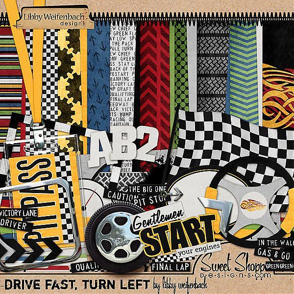3 Sheets Race Car NASCAR Racing Scrapbook Stickers