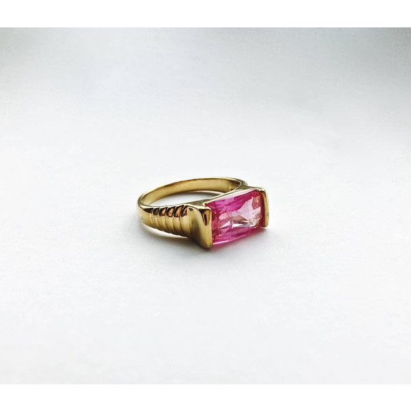 double stones ring dusty pink jewelry vintage rings 5 Sterling Silver Pink Stones Ring size 5.25 ON SALE light pink stone jewelry