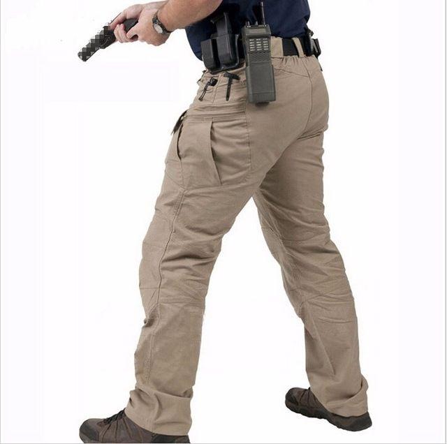 Homme Militaire Tactique Combat SWAT Training Pantalon Outdoor Casual Pantalon cargo