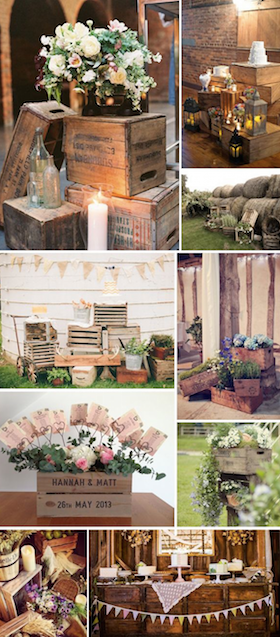Engagement Country Party DecorationsRustic