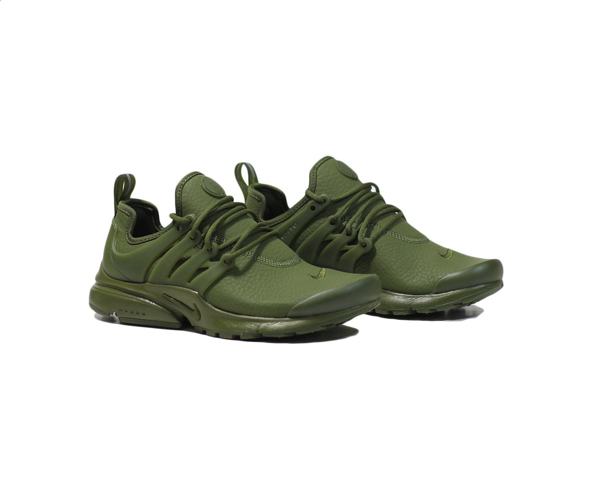 Nike Womens Air Presto PRM - Legion Green/Black