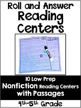 Nonfiction reading centers with informational text included! Integrate science and social studies into your literacy stations with these engaging and low prep centers.