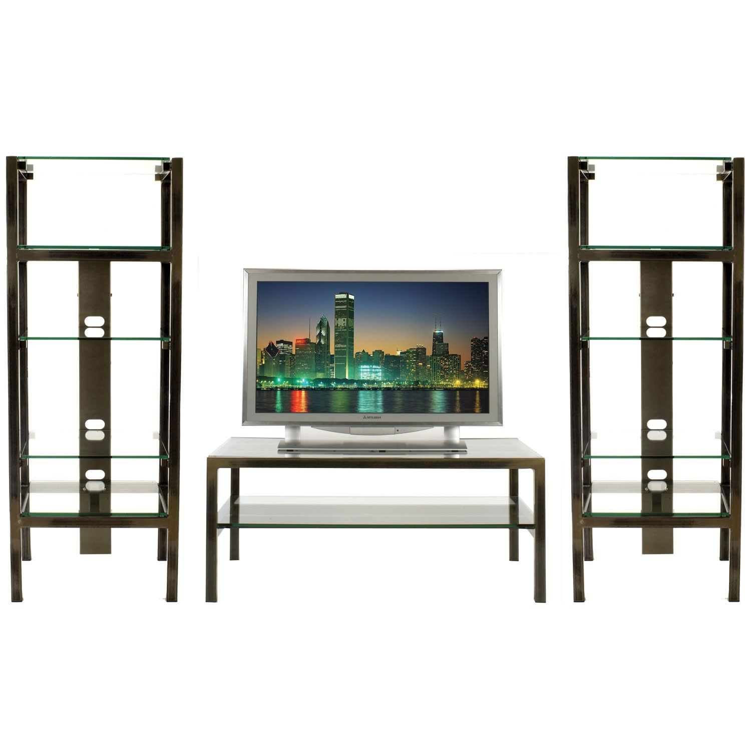 Steel glass home theater display shelving table by boltz tv boltz cd racks and dvd racks are ideal for cd storage and dvd storage we also offer tv stands outdoor bistro sets modern office furniture and modern geotapseo Gallery