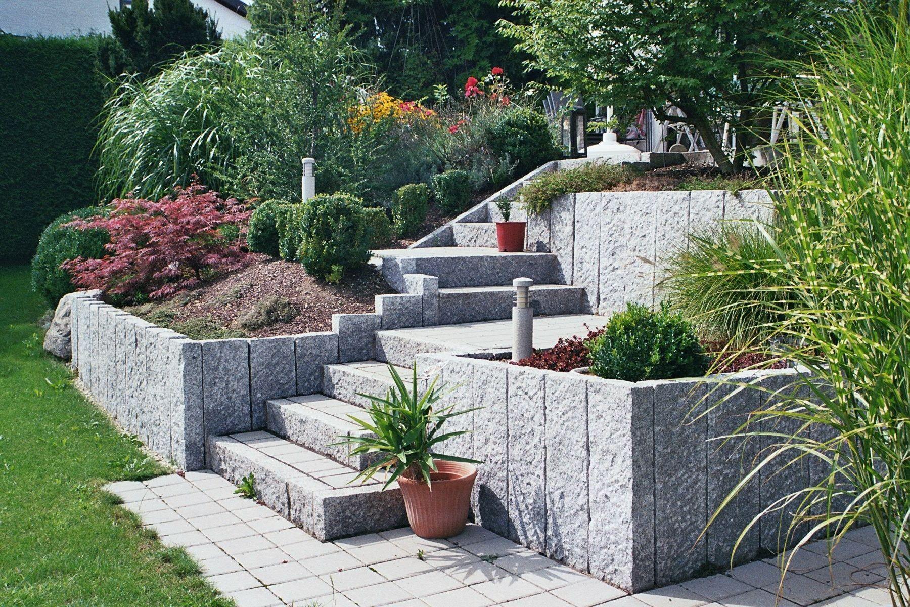 Auentreppeaussentreppe Garten Gartentreppe Garten Ideen