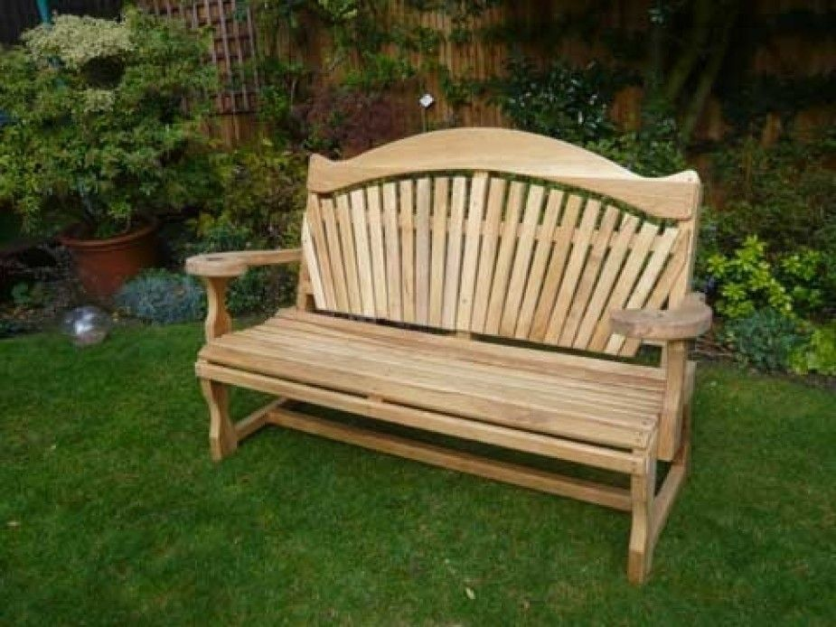 Quality Wooden Garden Bench   Oak