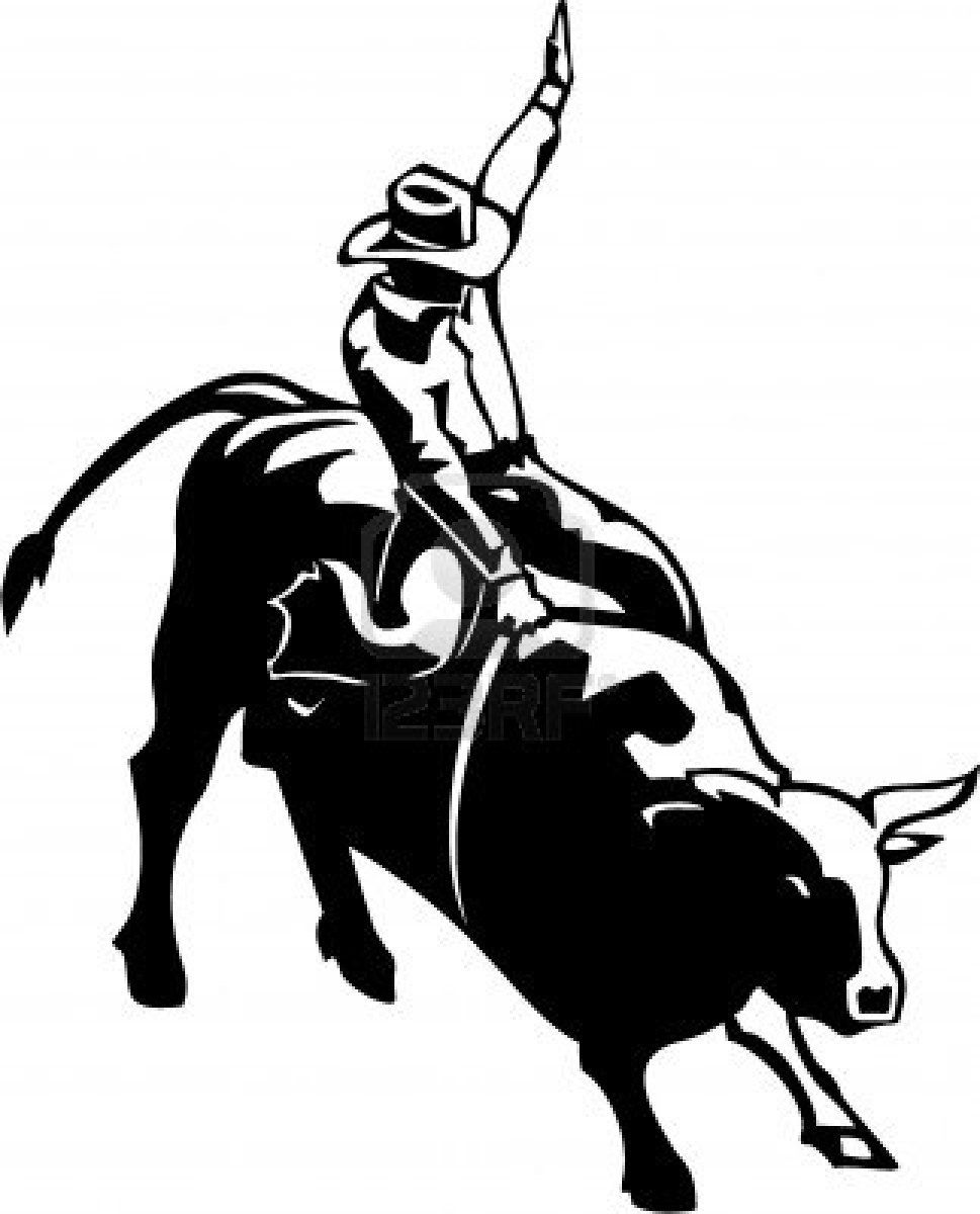 Bullriding Coloring Pages