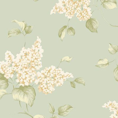 "Norwall Wallcoverings Inc English Florals 32.7' x 20.5"" Lilac Wallpaper Color:"