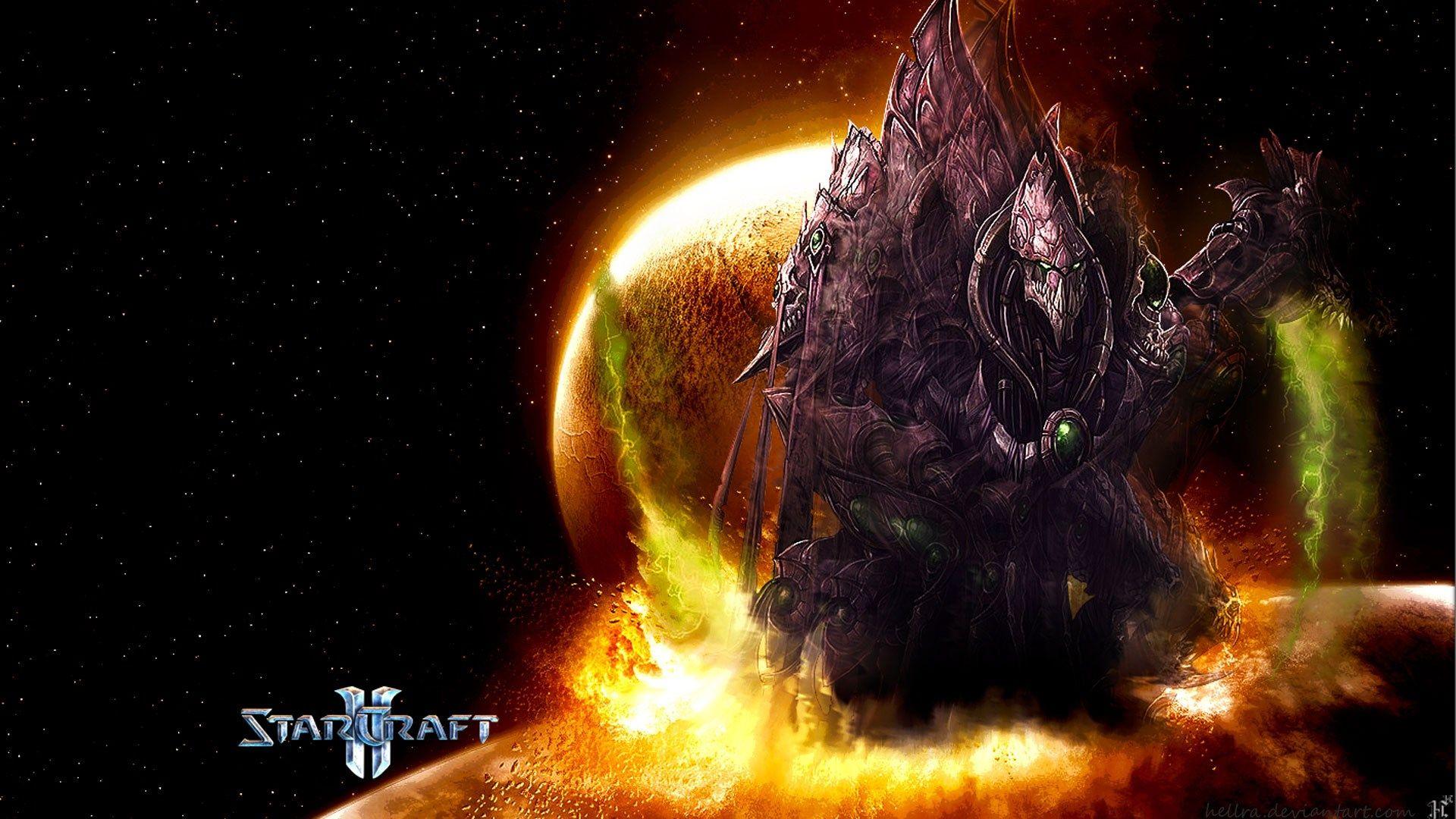 Ripley Nail - starcraft ii background hd - 1920x1080 px