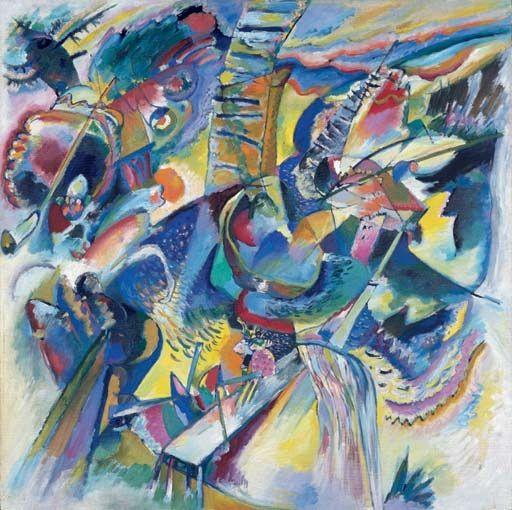 Wassily Kandinsky Improvisation Gorge 1914 Städtische Galerie im Lenbachhaus, Munich