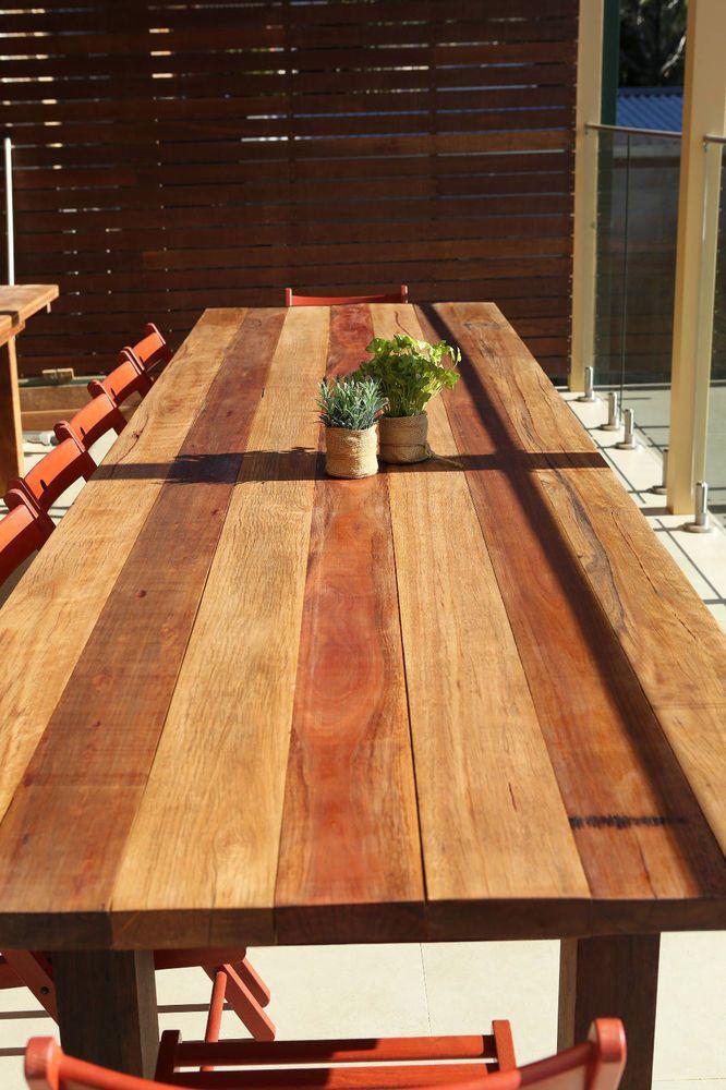 Extra Long Hardwood Outdoor Timber 12 14 Seater 3 6m Dining
