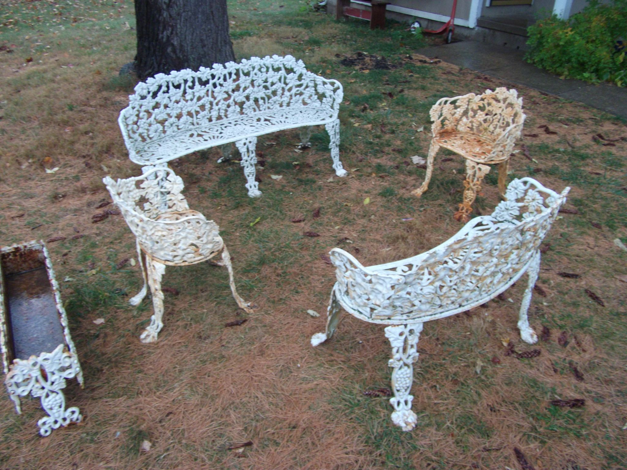 Antique Cast Iron Outdoor Furniture Most Popular Interior Paint
