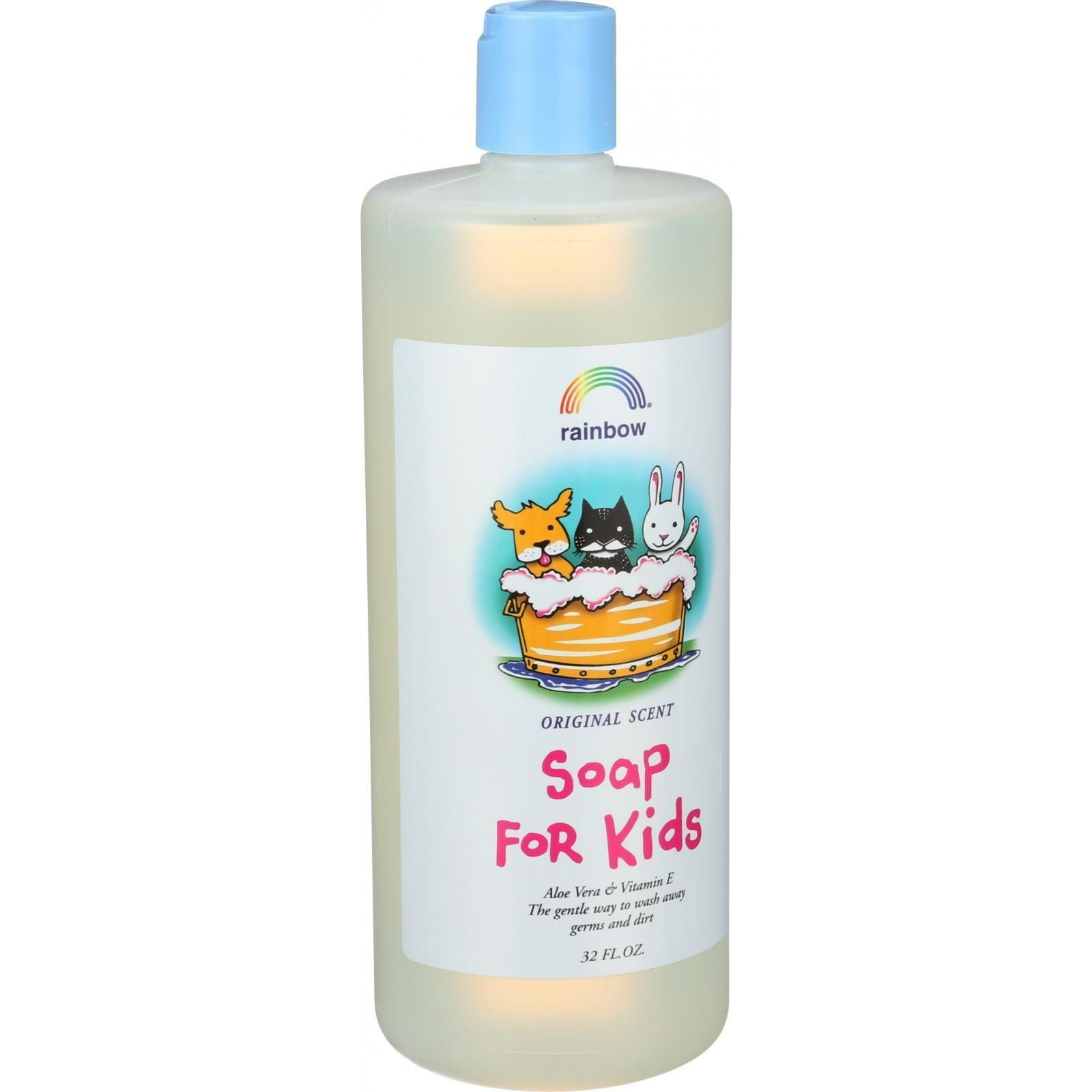 Rainbow Research Kids Hand Soap Antibacterial Refill 32 Oz