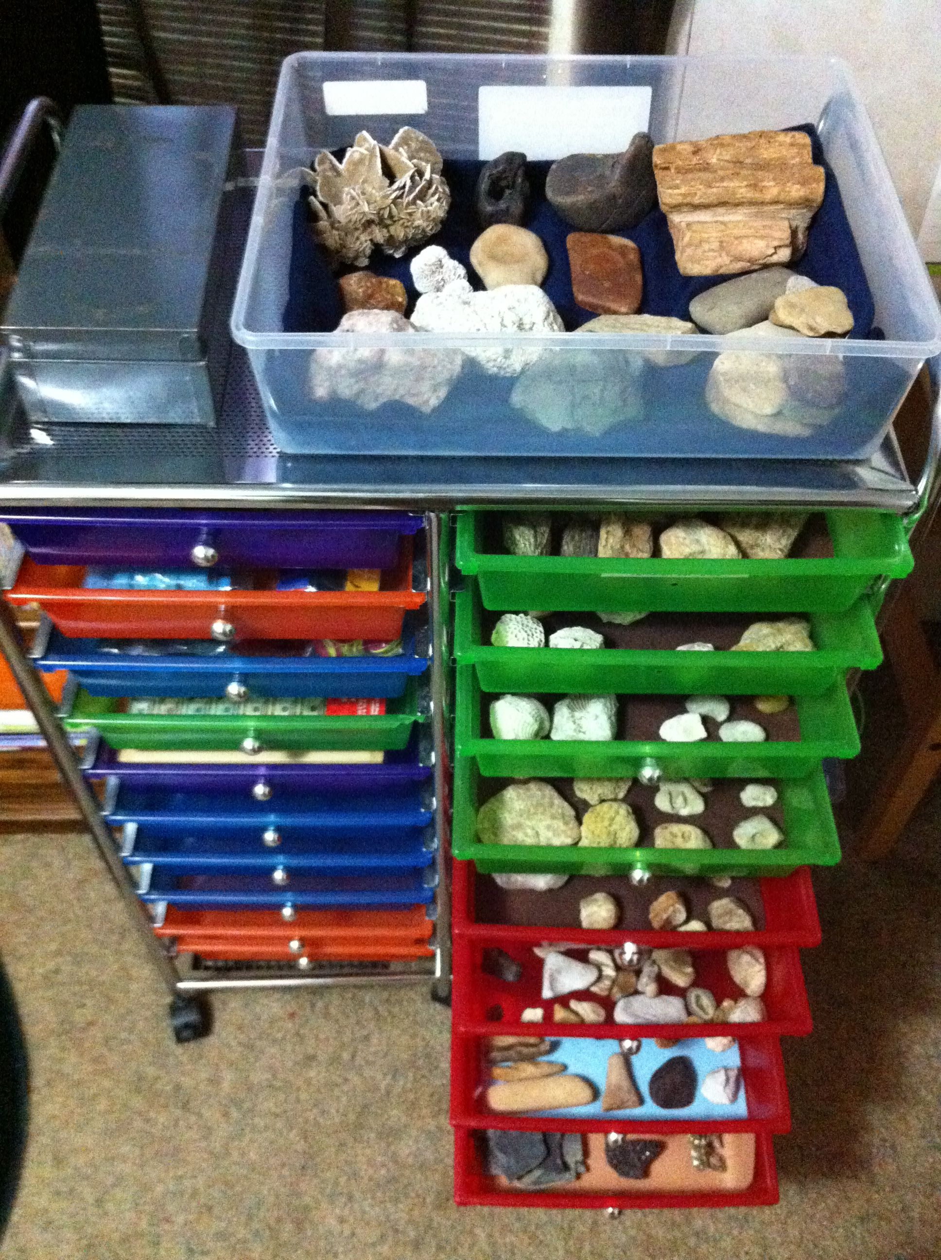 My New Rock Storage Storage And Organization Projects
