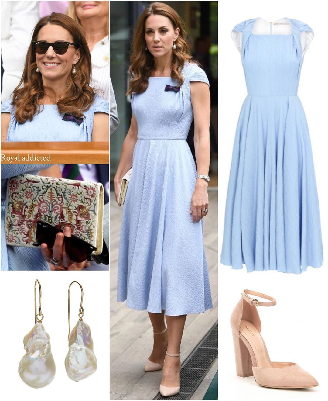Photo of Duchess of Cambridge Style! Dress: Emilia Wickstead; Shoes: Aldo; Clutch: (?); S… – Kate und William