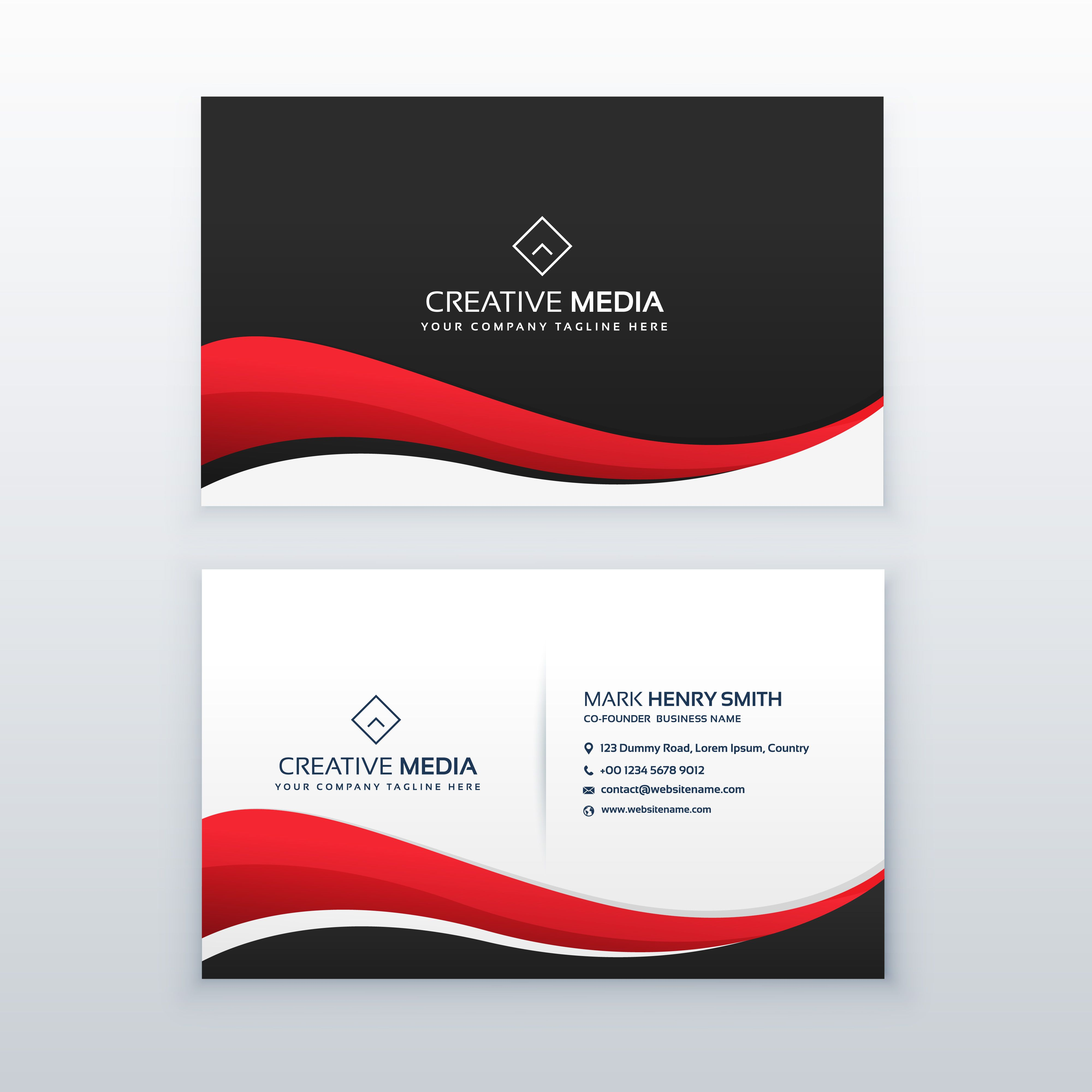Pin By Tara On Helen Photo Business Cards Red Business Cards Clean Business Card Design