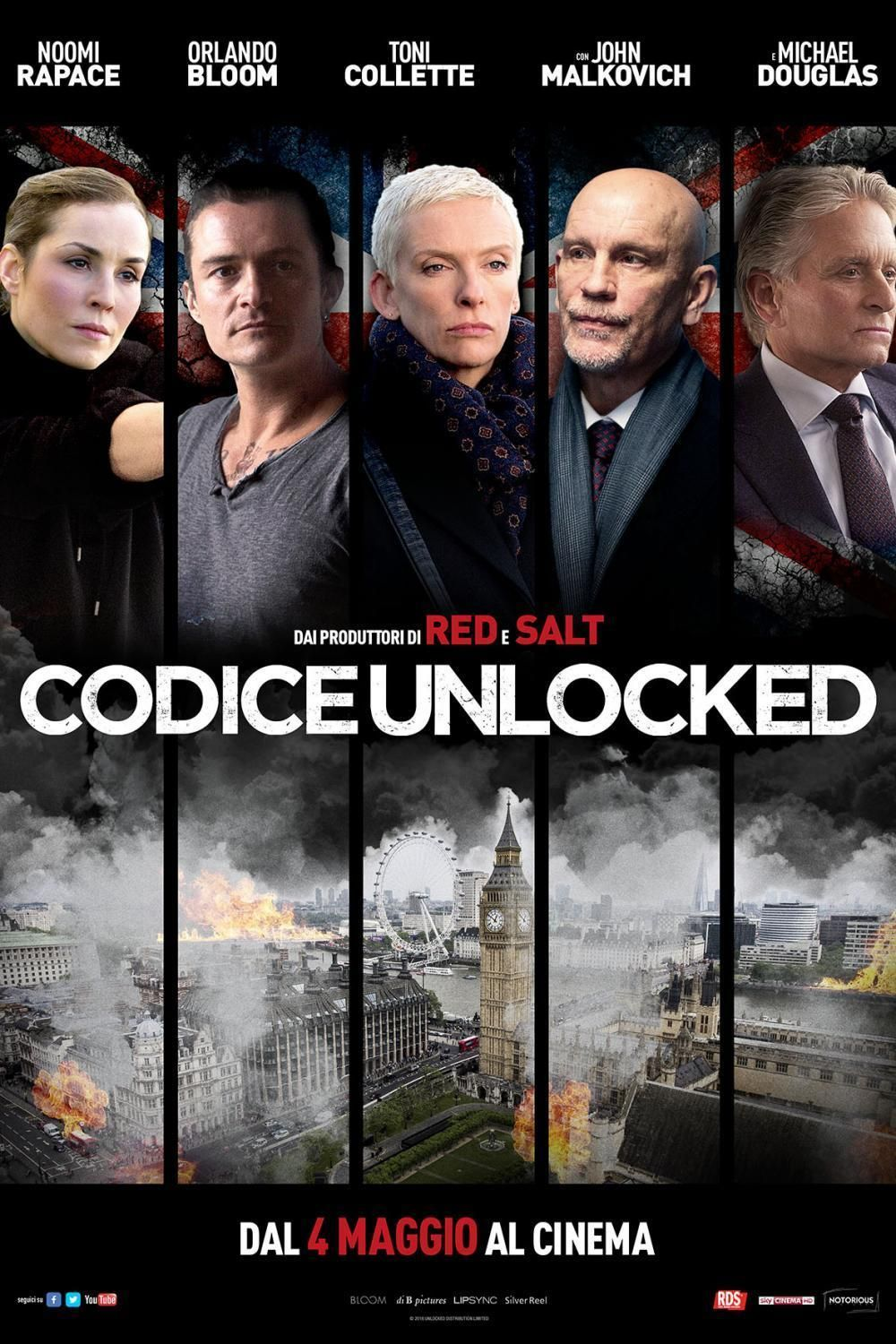 Codice Unlocked Streaming Film E Serie Tv In Altadefinizione Hd Streaming Movies Free Streaming Movies Online Free Films Online