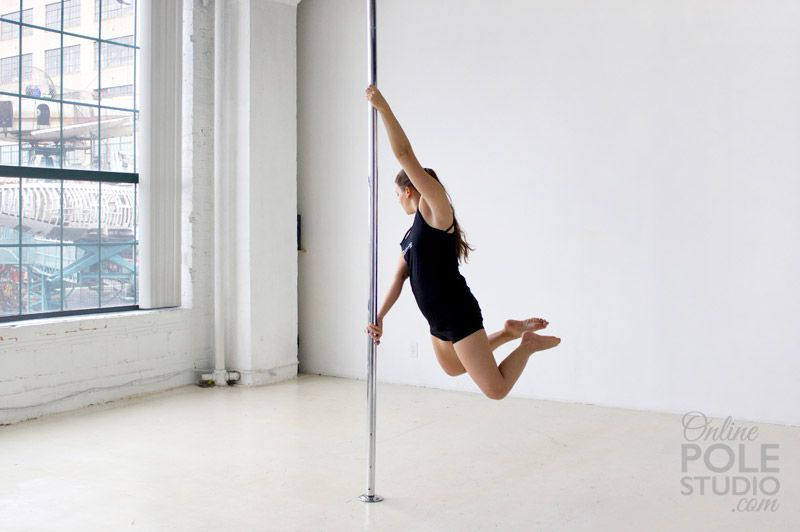 Carousel Spin Pole Dancing For Beginners Pole Dance Moves Pole Fitness Beginner