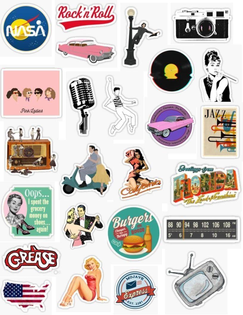 50 S Sticker Pack Sticker By Lauren53103 In 2020 Iphone Case Stickers Aesthetic Stickers Cool Stickers