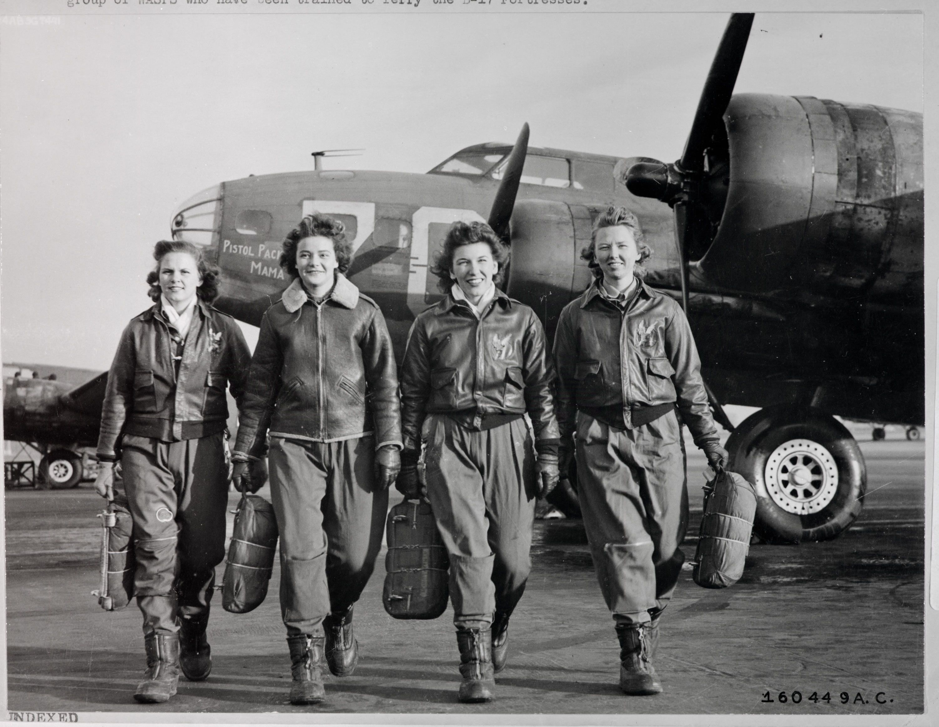 Members Of The Wasp Women Airforce Service Pilots Are