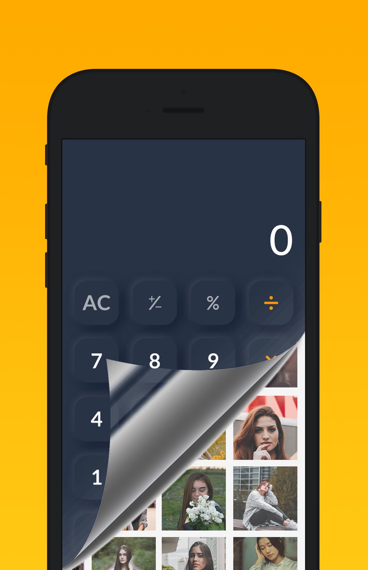 Secret Calculator Vault Hide Photo Lock Videos Android Code Admob Ads In 2020 Hidden Photos Photo Lock Vault App