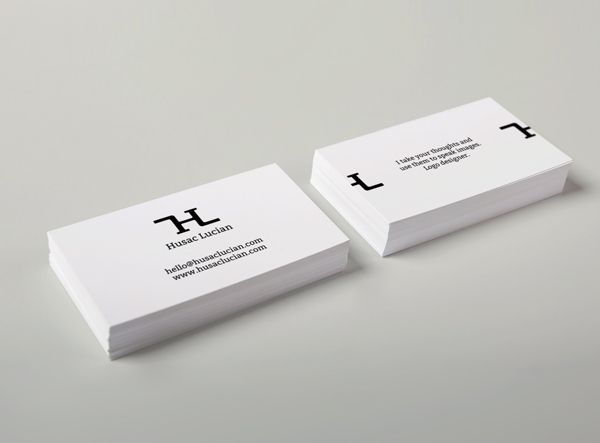 Minimalist Business Card 2 Design Business Cards Pinterest