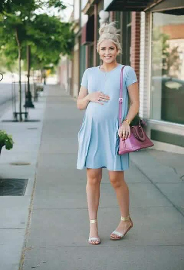 Look by @izadteev with #pregnant #dresses #sheinside.